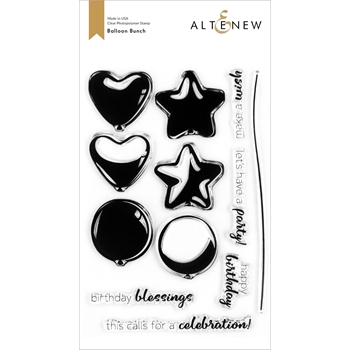 Altenew BALLOON BUNCH Clear Stamps ALT4255