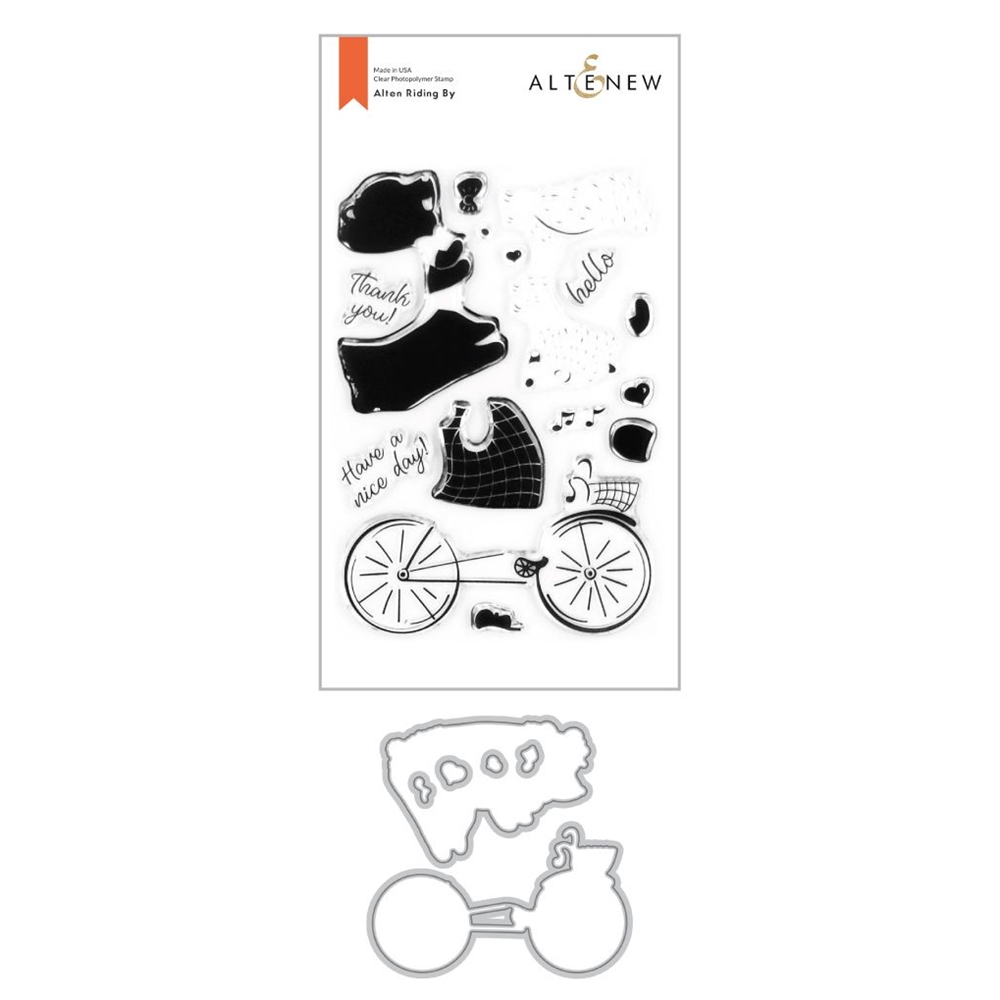 Altenew ALTEN RIDING BY Clear Stamp and Die Bundle ALT4254 zoom image