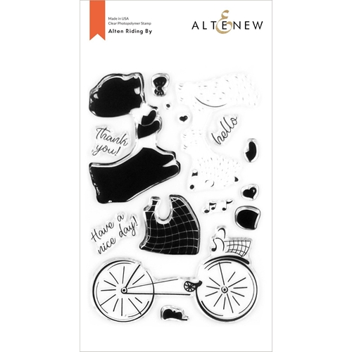 Altenew ALTEN RIDING BY Clear Stamps ALT4252 Preview Image