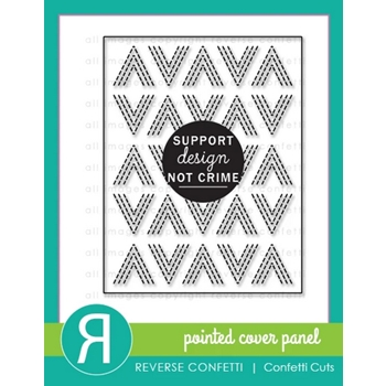 Reverse Confetti Cuts POINTED COVER PANEL Die*