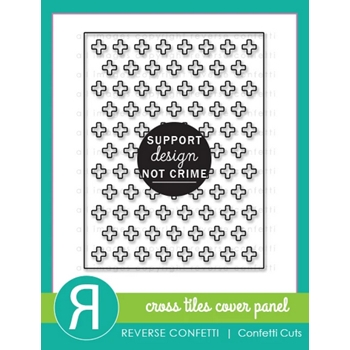 Reverse Confetti Cuts CROSS TILES COVER PANEL Die