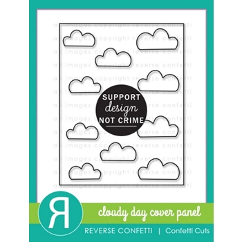 Reverse Confetti Cuts CLOUDY DAY COVER PANEL Die