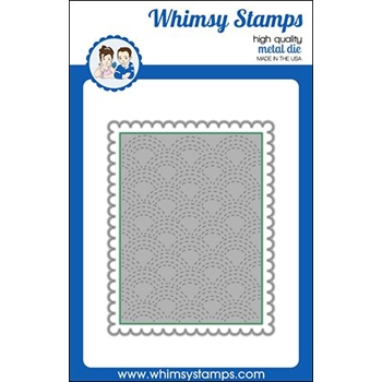 Whimsy Stamps QUILTED RAINBOW INLAID Die WSD472