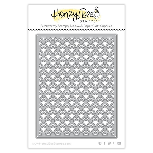 Honey Bee PINEAPPLE LATTICE COVER PLATE TOP Dies hbdsplct* Preview Image