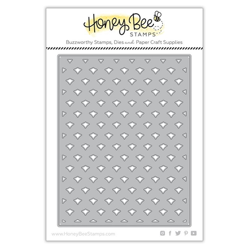 Honey Bee PINEAPPLE LATTICE COVER PLATE BASE Dies hbdsplcb* Preview Image