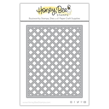 RESERVE Honey Bee GARDEN LATTICE COVER PLATE TOP Dies hbdsglct