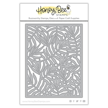 Honey Bee PALM FROND COVER PLATE Dies hbdspfcp