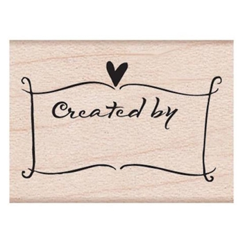 Hero Arts Rubber Stamp CREATED BY BANNER a2127