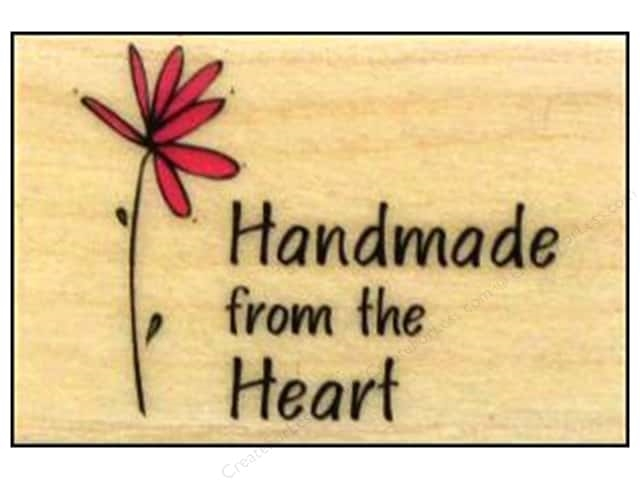 Hero Arts Rubber Stamp HANDMADE FROM THE HEART a3092 zoom image