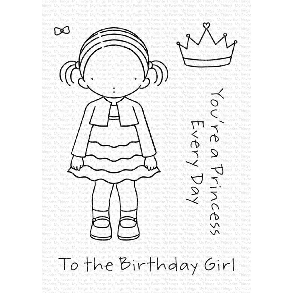Pure Innocence BIRTHDAY GIRL Clear Stamps pi305 zoom image