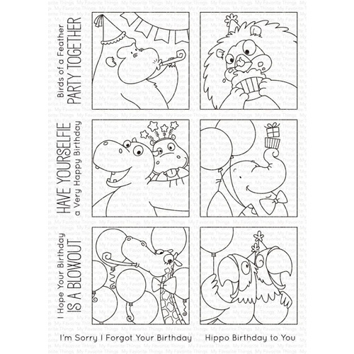 My Favorite Things PICTURE PERFECT PARTY ANIMALS Clear Stamps bb106 Preview Image