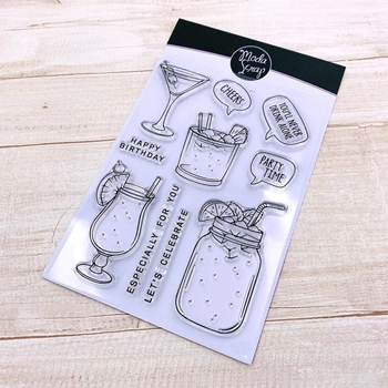 ModaScrap Clear Stamps PARTY TIME mstc1043