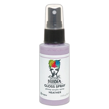 Dina Wakley Ranger HEATHER Media Gloss Spray mdo73727