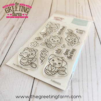 The Greeting Farm FURMAIDS Clear Stamps tgf558