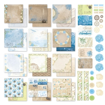 Couture Creations NEW ADVENTURES 12 x 12 Collection Kit co727753