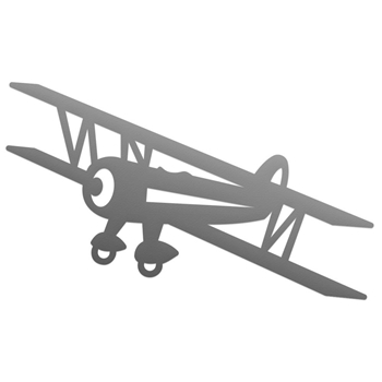 Couture Creations BIPLANE Mini Die co727773