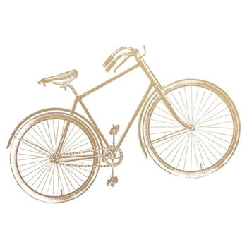 Couture Creations BICYCLE Mini Clear Stamp Set co727779