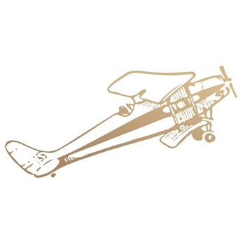 Couture Creations BIPLANE Mini Clear Stamp Set co727780
