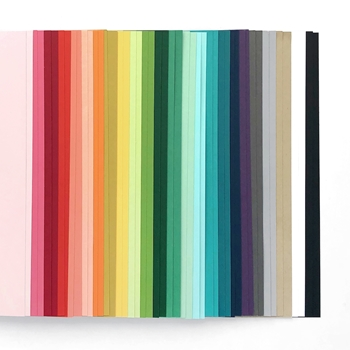 Concord & 9th ASSORTED COLOR Cardstock 10836
