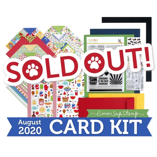 Simon Says Stamp Card Kit of the Month August 2020 PICNIC PARADE ck0820 Preview Image