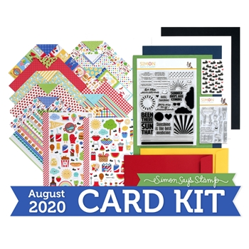 Simon Says Stamp Card Kit of the Month August 2020 PICNIC PARADE ck0820