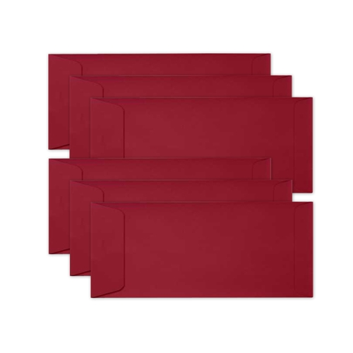 Simon Says Stamp Envelopes SLIMLINE SCHOOLHOUSE RED Open End sss71 Preview Image