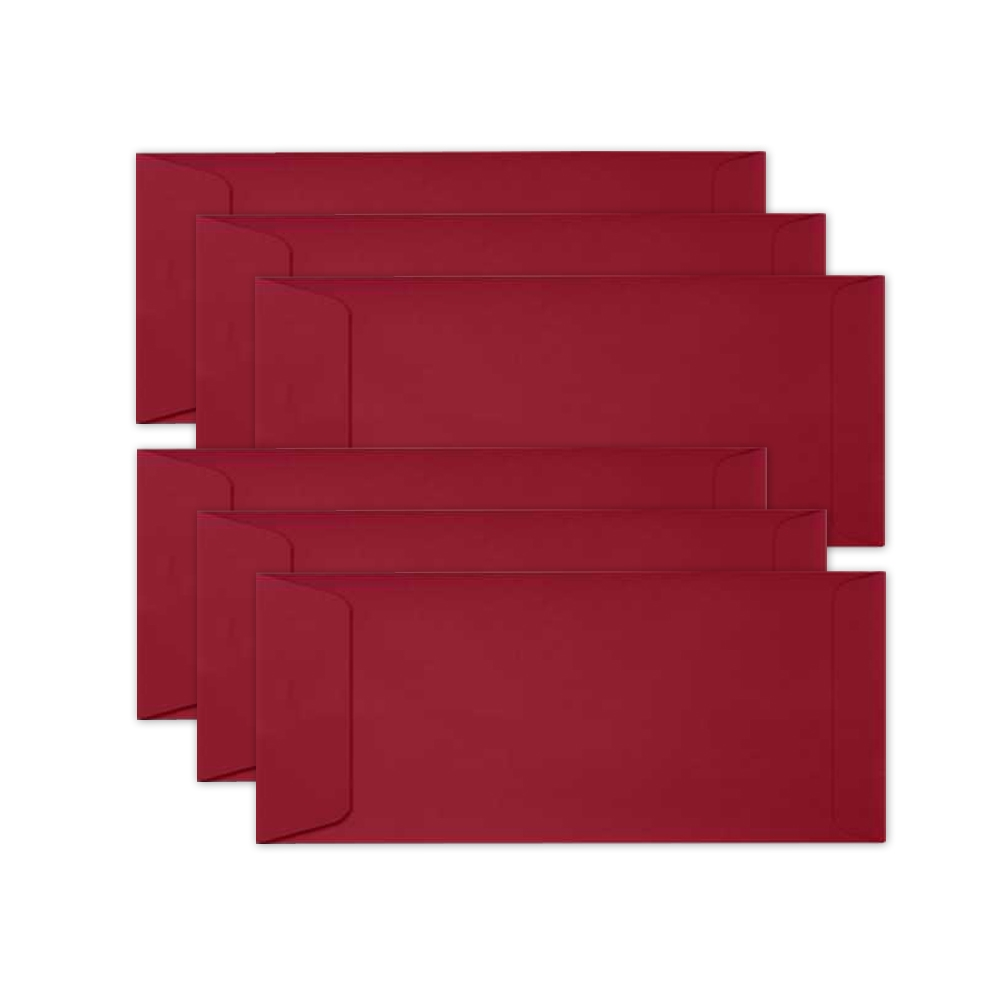 Simon Says Stamp Envelopes SLIMLINE SCHOOLHOUSE RED Open End sss71 zoom image