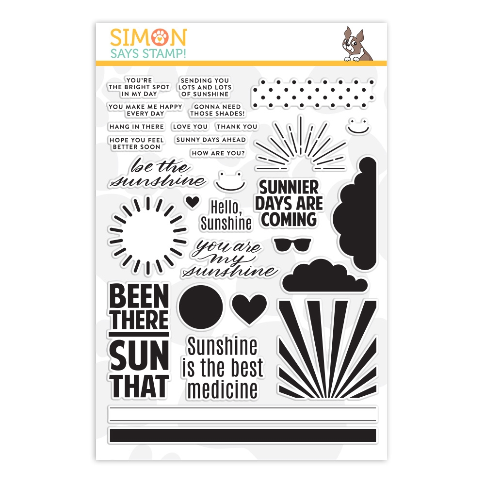 Simon Says Clear Stamps HELLO SUNSHINE sss202089 zoom image
