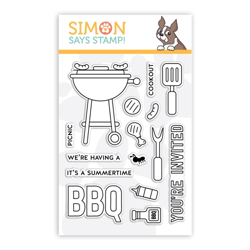 Simon Says Clear Stamps SUMMERTIME BBQ sss102193 Preview Image