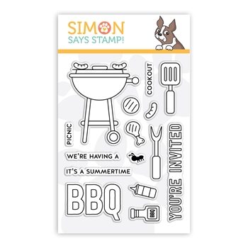 Simon Says Clear Stamps SUMMERTIME BBQ sss102193
