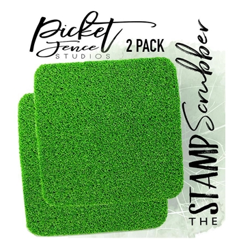 Picket Fence Studios THE STAMP SCRUBBER 2 PACK tt101