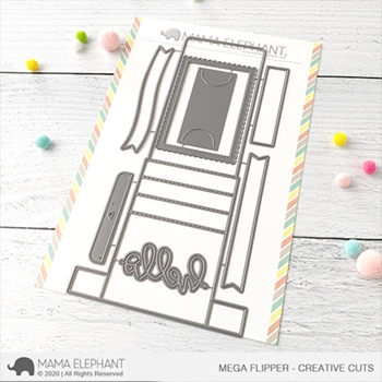 Mama Elephant MEGA FLIPPER Creative Cuts Steel Dies