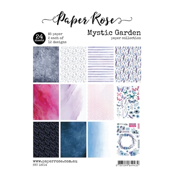 Paper Rose MYSTIC GARDEN Paper Pack 19214