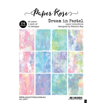 Paper Rose DREAM IN PASTEL Paper Pack 18457