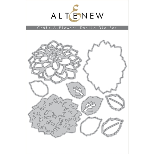 Altenew CRAFT A FLOWER DAHLIA Dies ALT4250 Preview Image