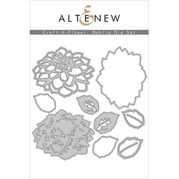 Altenew CRAFT A FLOWER DAHLIA Dies ALT4250