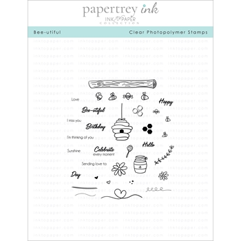 Ink to Paper BEE-UTIFUL Clear Stamps 1183