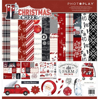 PhotoPlay CHRISTMAS CHEER 12 x 12 Collection Pack chr2301