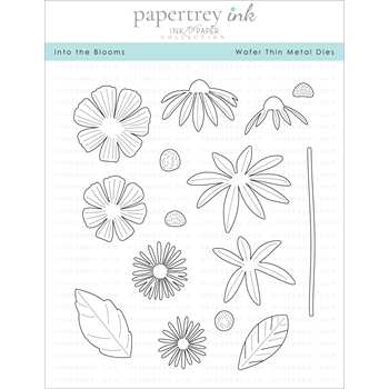 Ink to Paper INTO THE BLOOMS Dies ITP154