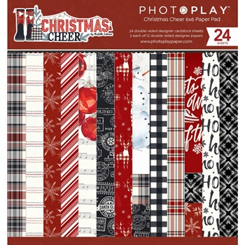 PhotoPlay CHRISTMAS CHEER 6 x 6 Paper Pad chr2312