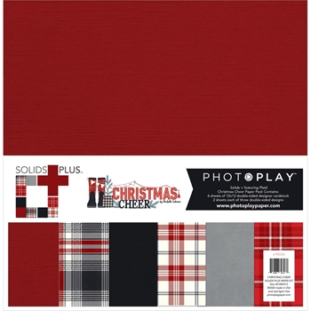 PhotoPlay CHRISTMAS CHEER 12 x 12 Solids Plus Kit chr2313