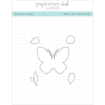 Ink to Paper GRACEFUL WINGS Dies ITP150