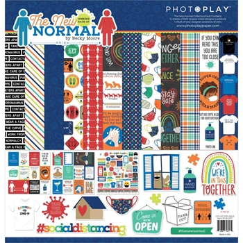 PhotoPlay THE NEW NORMAL 12 x 12 Collection Pack the2317