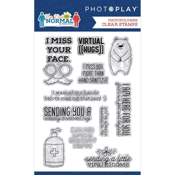 PhotoPlay THE NEW NORMAL Clear Stamps the2326