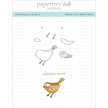 Ink to Paper FEATHERED FRIENDS 2 Dies ITP148