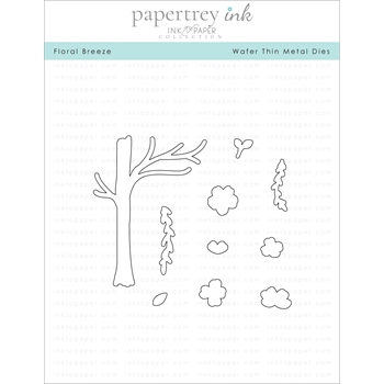 Ink to Paper FLORAL BREEZE Dies ITP146