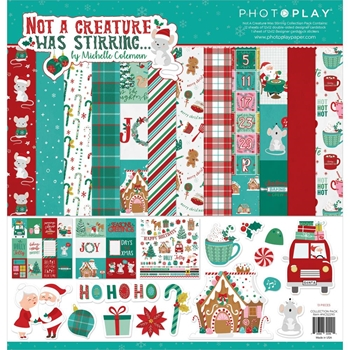 PhotoPlay NOT A CREATURE WAS STIRRING 12 x 12 Collection Pack ncs2290