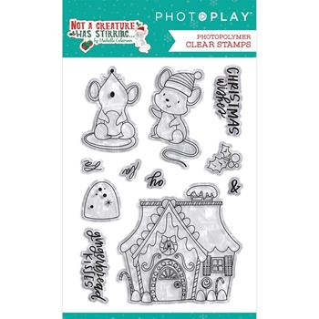 PhotoPlay NOT A CREATURE WAS STIRRING Clear Stamps ncs2299