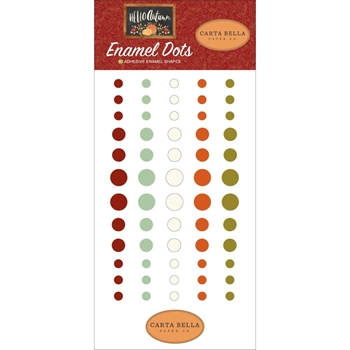 Carta Bella HELLO AUTUMN Enamel Dots cbhea122028