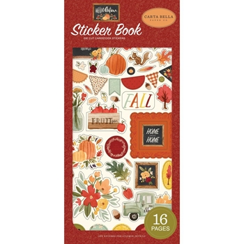 Carta Bella HELLO AUTUMN Sticker Book cbhea122029